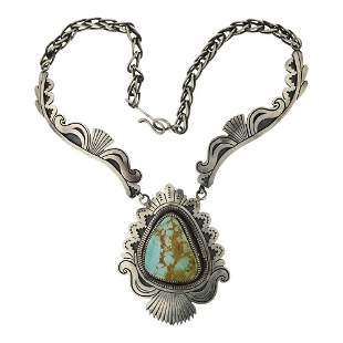 Mark Yazzie Royston Turquoise Necklace