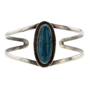 Vintage Turquoise Navajo Bracelet