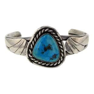 Vintage Pawn Kingman Turquoise Bracelet