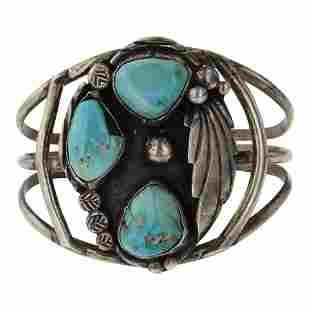 Vintage Pawn Nevada Turquoise Bracelet