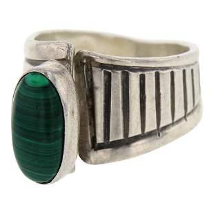 LP Malachite Ring