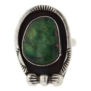 Vintage Pawn Variscite Ring