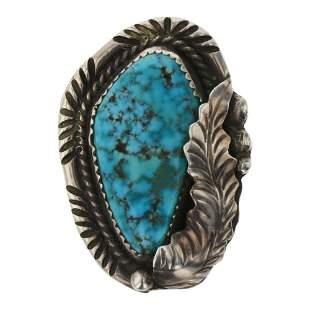 Old Pawn Ithaca Peak Turquoise Ring