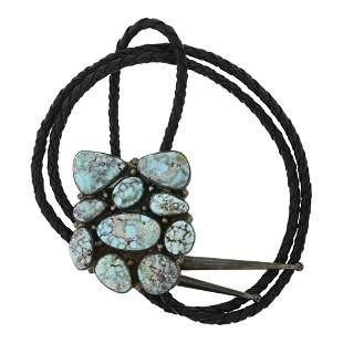 Tony Guerro Vintage Dry Creek Turquoise Bolo Tie