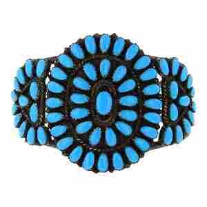 Larry Moses Begay Vintage Sleeping Beauty Turquoise