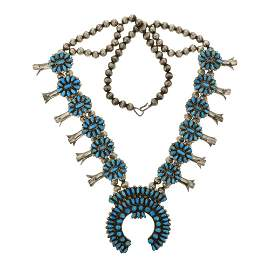 Victor Moses Begay Vintage Pawn Turquoise Cluster