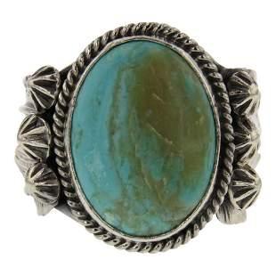 Vintage Turquoise Men's Ring