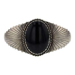 James Harrison Black Onyx Bracelet