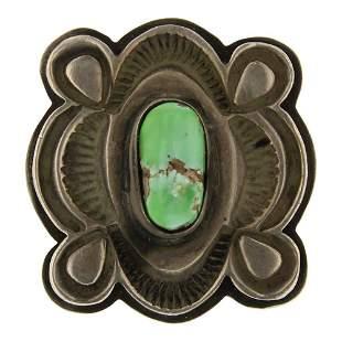 Tommy Jackson Carrico Lake Turquoise Ring