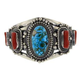 Tom Lewis High Grade Turquoise Mountain & Branch Coral