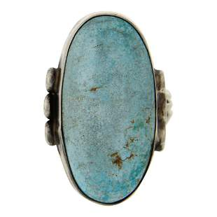 Victor Hicks Nevada Turquoise Ring
