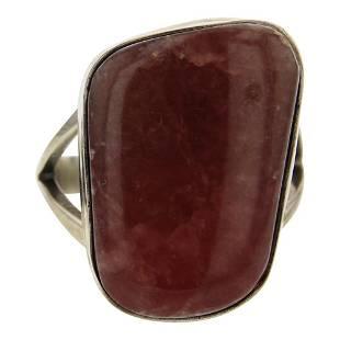 Esther Spencer Rhodochrosite Ring