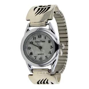 Cisco Navajo Overlay Bear Paw Watch bracelet