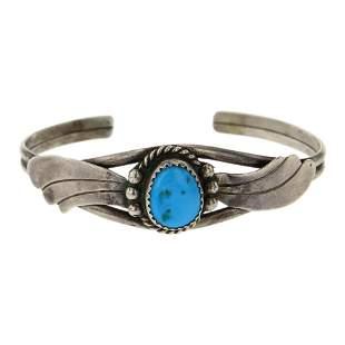 Vintage Kingman Turquoise Bracelet