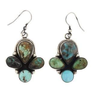 Kimmy Lee Nevada Turquoise Earrings