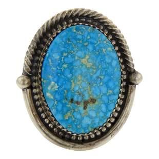 Deborah Smith Water web Kingman Turquoise Ring