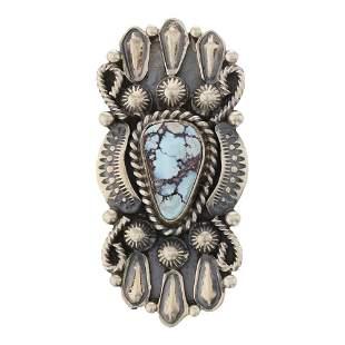 Jeff James Jr. Golden Hill Turquoise Ring