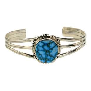 Water web Kingman Turquoise Bracelet