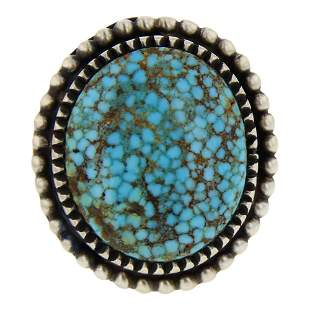 Boyd Ashley Turquoise Mountain Spiderweb Turquoise Ring