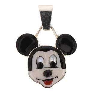 Don Dewa Zuni Mickey Mouse Pendant