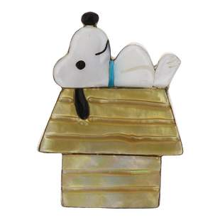 PL Vintage Snoopy Pin & Pendant