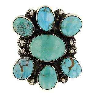 Kathleen Chavez Nevada Turquoise Ring