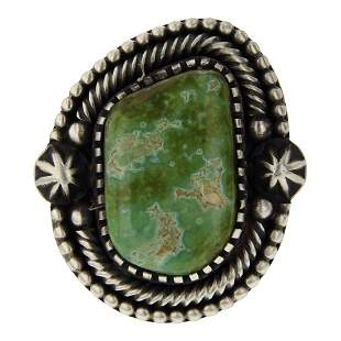 Marvin Mcreeves Emerald Valley Turquoise Ring