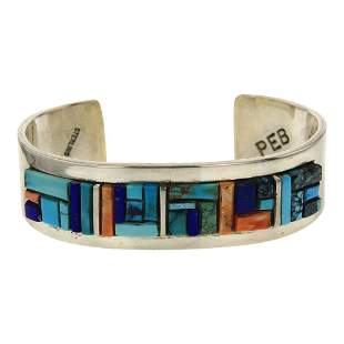 Patricia Edward Becenti Turquoise Lapis & Spiny Oyster