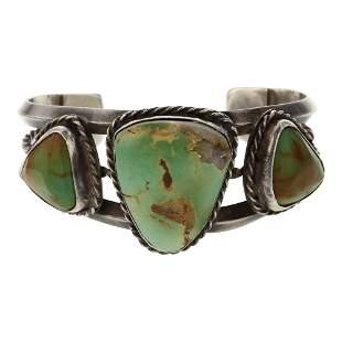 Vintage Pawn Royston Turquoise Bracelet
