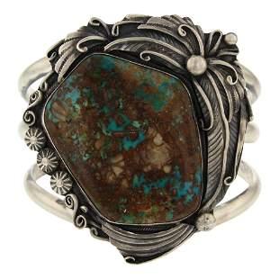 Danny Clark Freeform Royston Turquoise Bracelet