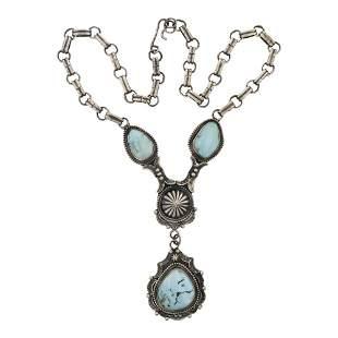 Bobby Johnson Dry Creek Turquoise Necklace