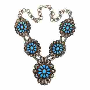 Darrin Livingston Sleeping Beauty Turquoise Cluster