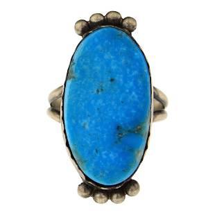 Selena Warner Blue Ridge Turquoise Ring
