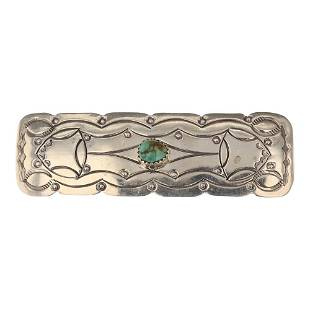Rose Abeyta Turquoise Pin