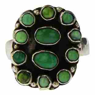 Vintage Emerald Valley Turquoise Ring