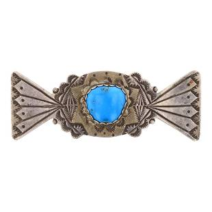 Old Pawn Turquoise Pin
