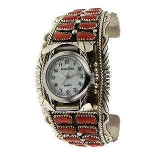 Vivian Jones Coral Watch bracelet