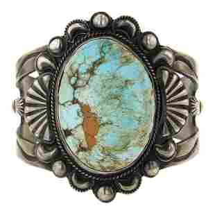 Hemerson Brown Nevada Turquoise Bracelet