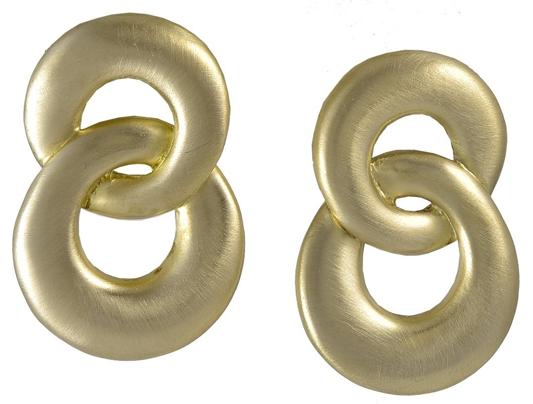 Angela Cummings Gold Earrings