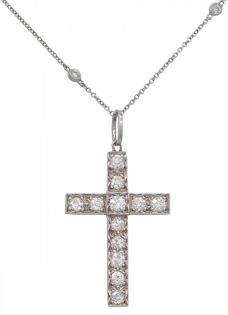Platinum and Diamond Cross