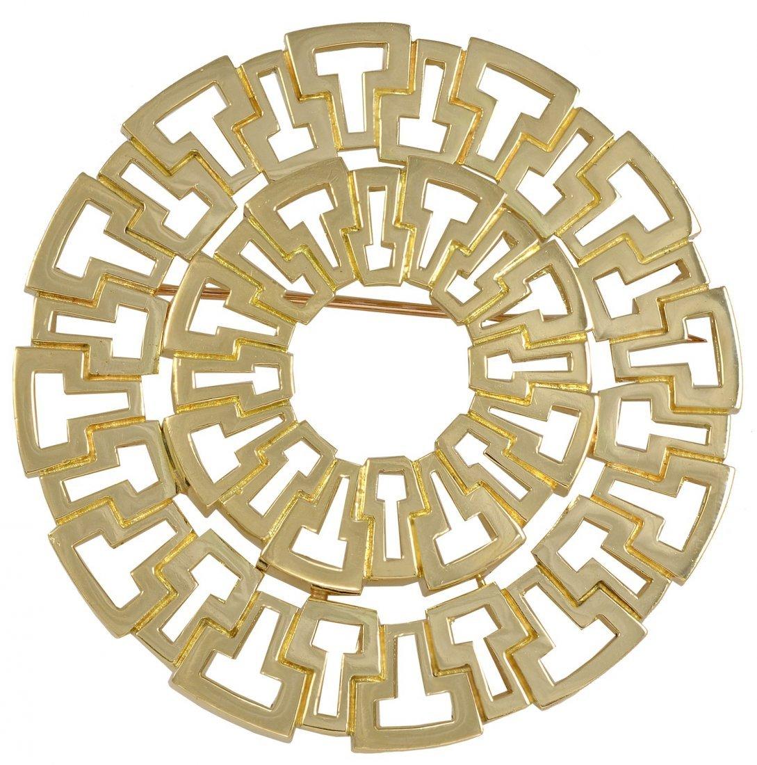 TIFFANY & CO Large Geometric Brooch/Pendant