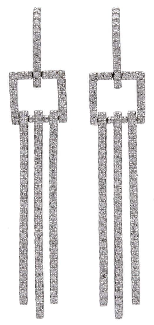 Sonia B Diamond Drop Earrings