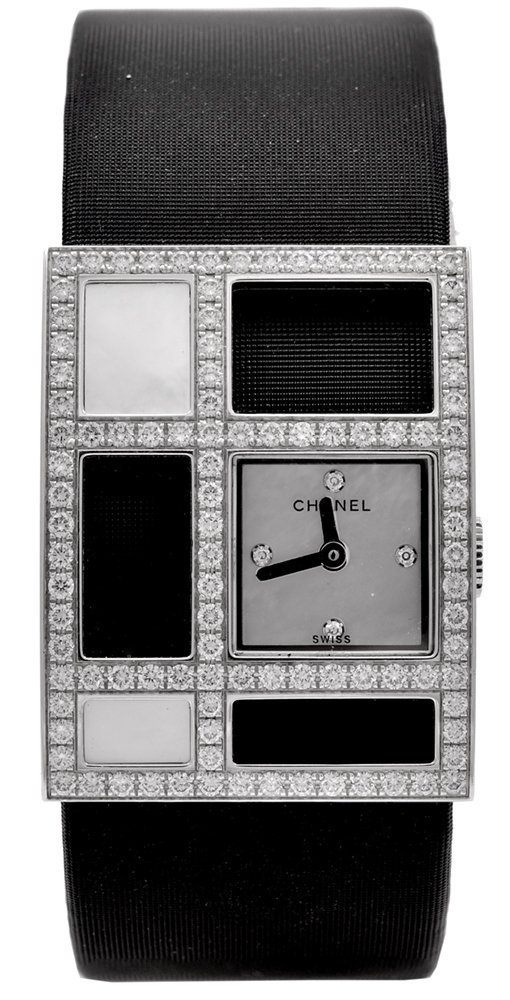 Chanel Lady's White Gold and Diamond 1932 Wristwatch