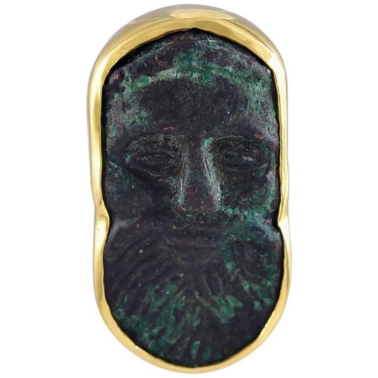 Celtic Bronze Pendant