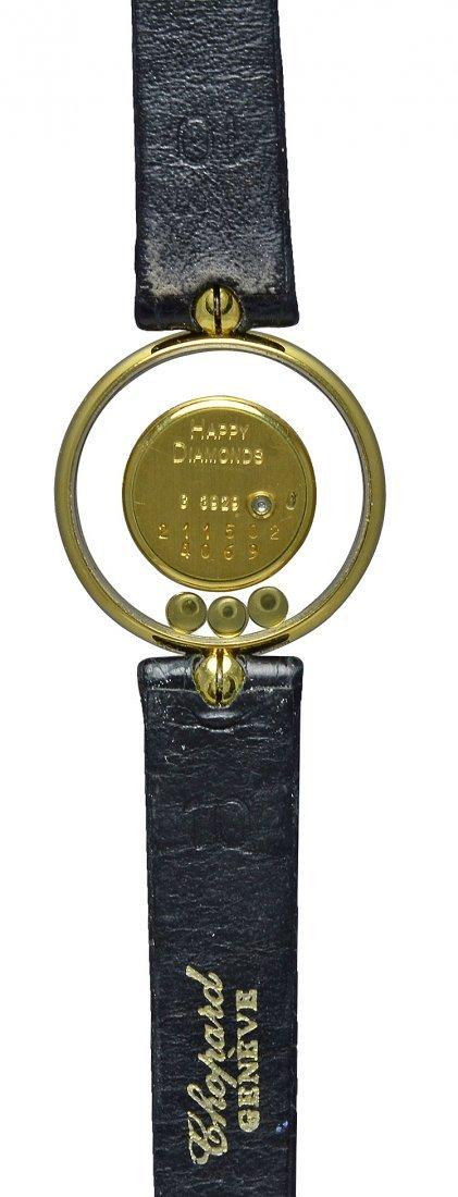 Chopard Lady's Yellow Gold Happy Diamond Quartz Watch - 2
