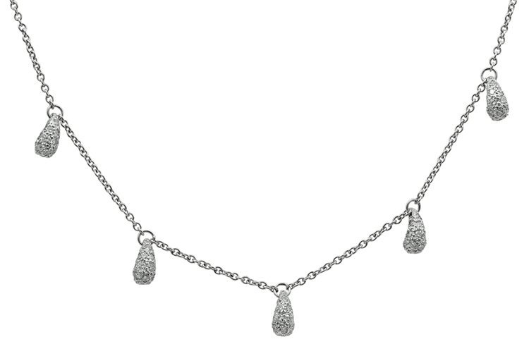 TIFFANY & CO. Peretti Platinum and Diamond Necklace