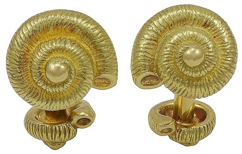 TIFFANY & CO. Shell Cufflinks