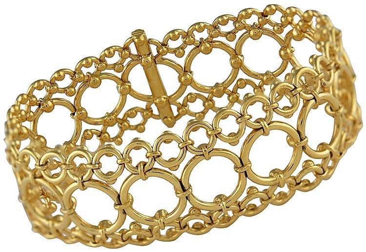 Tiffany& Co. Open Work Lace Bracelet
