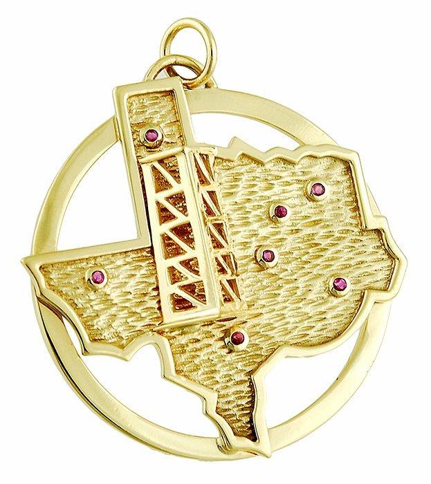 Texas Oil Well Pendant/Charm