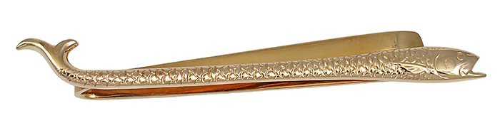 Tiffany& Co. Salmon Tie Bar
